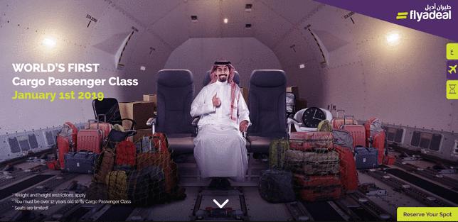 """Klasa """"cargo"""". Niewybredny żart linii lotniczej"""