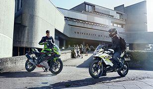 """Kawasaki serwuje swoje """"125"""" w nowych barwach. Ninja 125 i Z125 na 2022 r."""