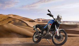 Aprilia Tuareg 660 na nowym wideo. Oto, co o niej wiemy