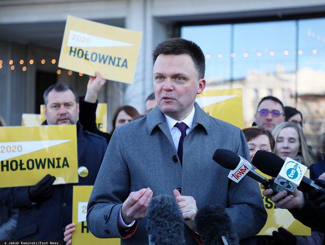 Wybory prezydenckie 2020. Szymon Hołownia zabiera głos ws. klipu z brzozą