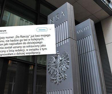 """Kataryna zrezygnowała ze współpracy z """"Do Rzeczy"""". Powodem odrzucenie felietonu"""