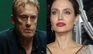 Daniel Olbrychski zdradził Agacie Młynarskiej, jak na komplement zareagowała Angelina Jolie