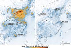 Koronawirus z Chin. Zobacz, jaki wpływ ma epidemia na jakość powietrza