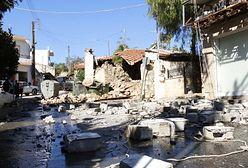 Trzęsienie ziemi na Krecie. Domy w ruinie, mieszkańcy ewakuowani w popłochu