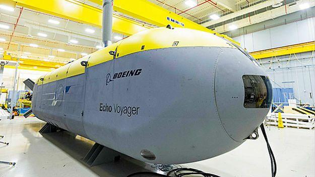 Bezzałogowy okręt podwodny Echo Voyager opracowany przez koncern Boeing