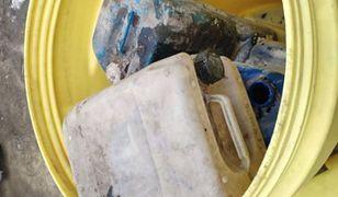 Substancja chemiczna znajdowała się w uszkodzonym kanistrze