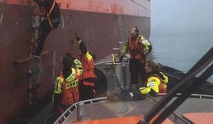 Dramatyczna akcja na Morzu Północnym. Uratowano Polaka