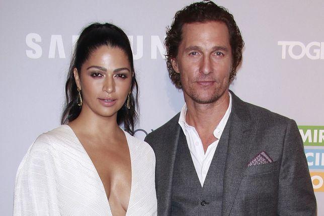 Żona Matthew McConaughey zdradziła, że pierwsze dziecko rodziła 3 dni