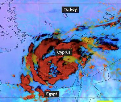 """""""Medicane"""" może powodować wyjątkowo obfite deszcze do niedzieli"""