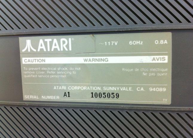 Atari Sparrow, być może jeden z pierwszych prototypów zaprezentowanych przez Jacka Tramiela.