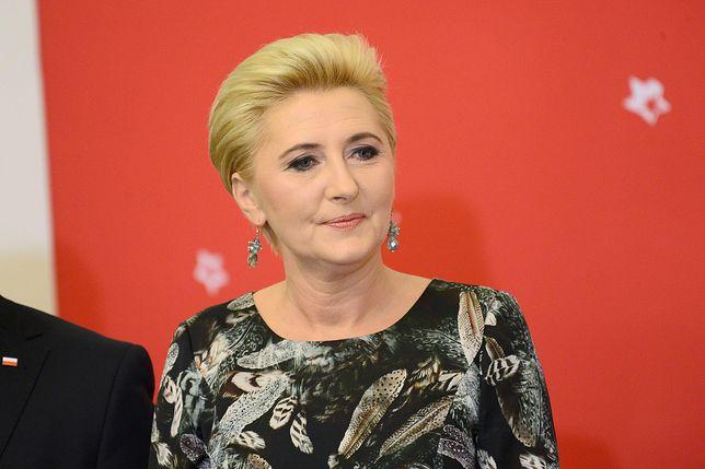 Agata Kornhauser-Duda pojechała na Farmę Życia