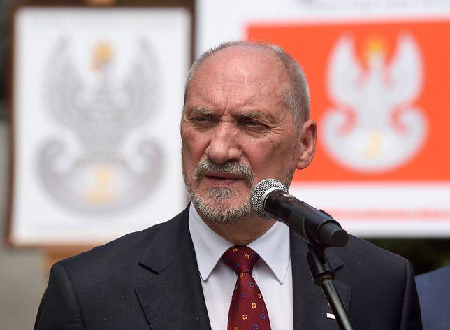 Były szef MON Antoni Macierewicz zabrał głos ws. neonazistów w Polsce