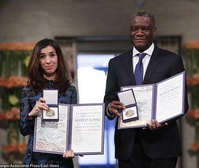 Nadia Murad i Denis Mukwege 10 grudnia odebrali Pokojową Nagrodę Nobla