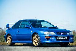 Legendarne Subaru 22B STi na sprzedaż