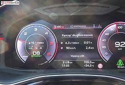 Audi Q8 50 TDI 286 KM (AT) - pomiar zużycia paliwa