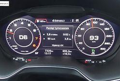 Audi TT quattro 2.0 TFSI 230 KM (AT) - pomiar spalania
