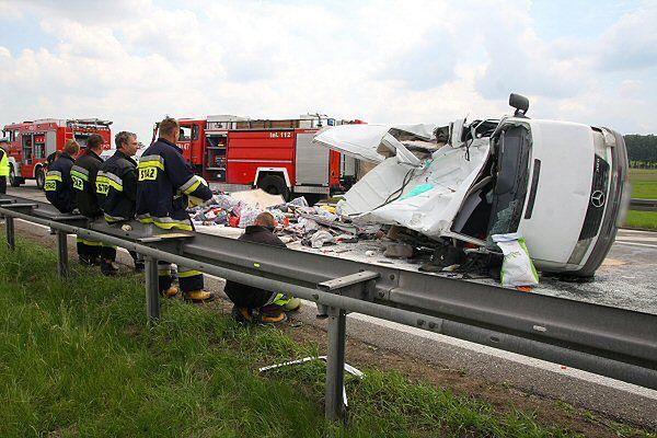Bus, w którym na A4 zginęło siedem osób, był przeładowany