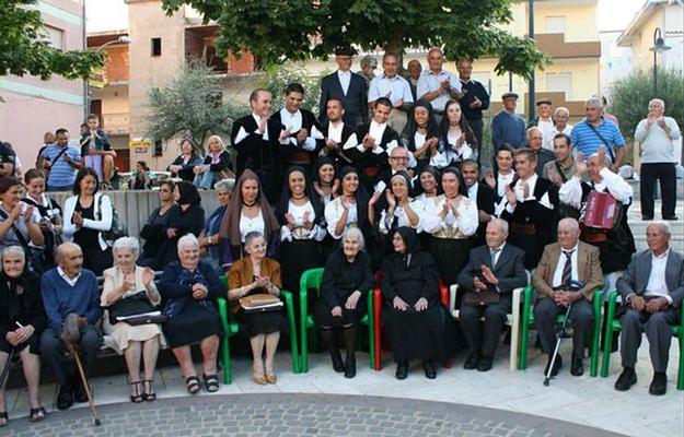 8-osobowe rodzeństwo Melis z Sardynii rekordzistą świata - mają razem 745 lat