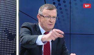 Tadeusz Cymański, poseł Solidarnej Polski wywołał nową odsłonę debaty o klapsach