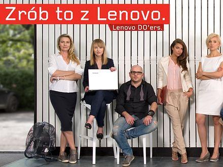 Zrób to z Lenovo!