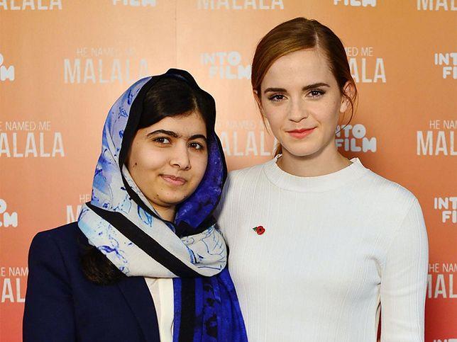 """Malala Yousafzai w wywiadzie z Emmą Watson: """"To dzięki tobie nazywam siebie feministką"""""""