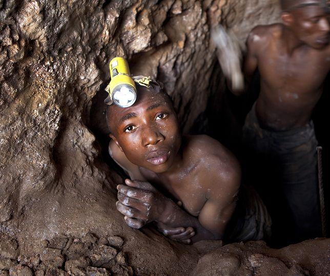 W afrykańskich kopalniach pracują setki tysięcy dzieci
