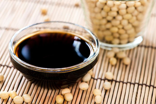 Oryginalny sos sojowy posiada prosty skład