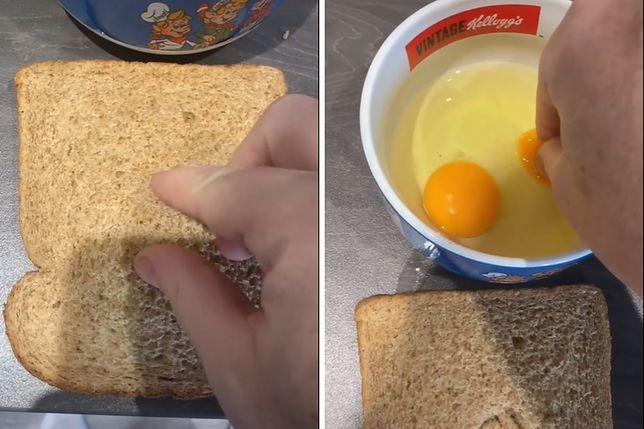 Zaskakujący sposób na oddzielenie żółtek od białek.