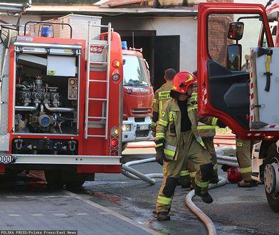 Zastawił autem wyjazd dla strażaków. Wrócił po sześciu godzinach