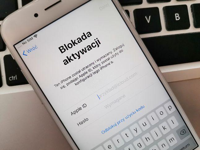 iPhone z blokadą aktywacji – bez logowania jest bezużyteczny, chyba że odepnę go od swojego konta iCloud