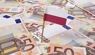 Wprowadzenie euro w Polsce. Ponad połowa badanych uważa, że przyjęcie unijnej waluty będzie złe