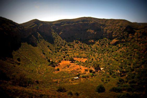 Caldera de Bandama, stożek wulkaniczny na południe od miasta Las Palmas