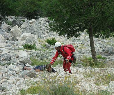 To już trzecie akcja ratunkowa, w której chorwaccy ratownicy ściągają z gór turystów w klapkach.