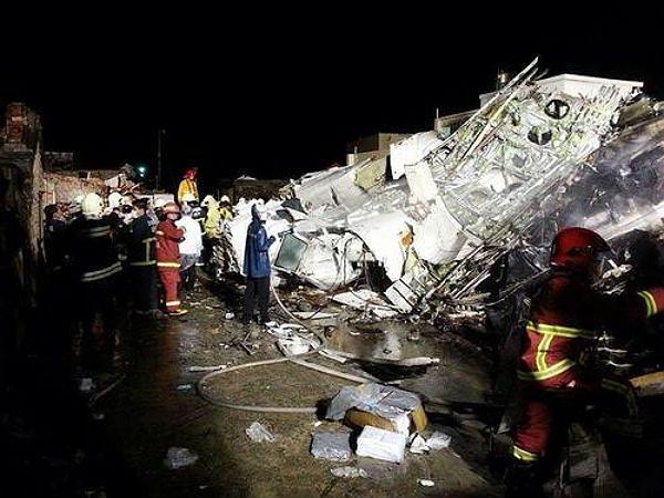 Awaryjne lądowanie samolotu na Tajwanie. Zginęło 47 osób