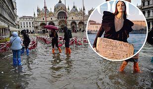 """""""Vogue"""" apeluje o pomoc dla Wenecji"""