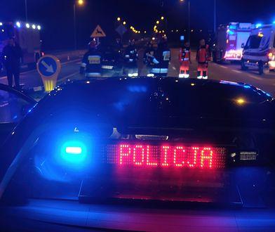 TIR zderzył się z samochodem osobowym na S1 w Sosnowcu.
