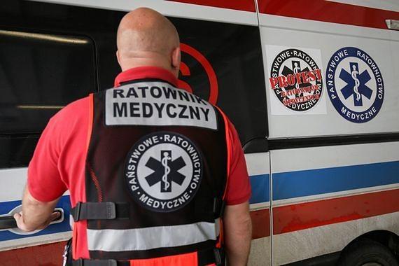 """Ratownicy medyczni wyjdą w piątek na ulice Warszawy. """"W stolicy brakuje 100 ratowników"""""""