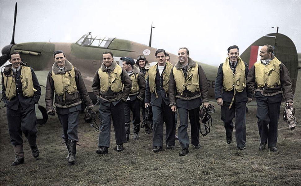 Jerzy Cynk dla WP.PL: Anglicy nie kryli zdziwienia skutecznością polskich pilotów w Bitwie o Anglię