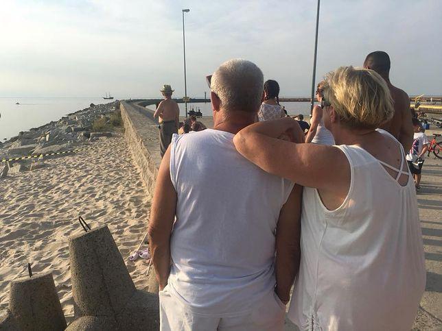 Tragedia w Darłówku. Troje dzieci zginęło w morzu
