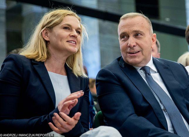 Wybory parlamentarne i intensywna kampania. Barbara Nowacka i Grzegorz Schetyna na Forum Programowym Koalicji Obywatelskiej.