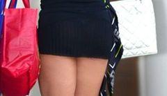 Jennifer Nicole Lee w ekstremalnie krótkiej sukience