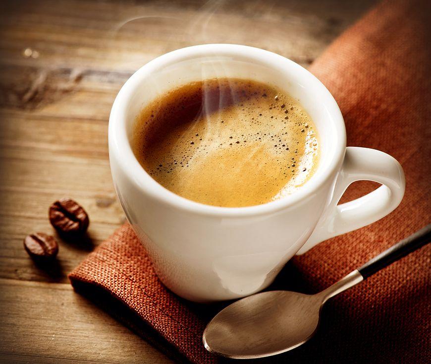 Pachnąca, aromatyczna kawa