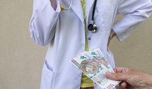 Lekarze nie oczekują od pacjentów łapówek