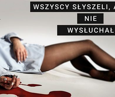 Na plakatach kobieta we krwi. Kontrowersyjna kampania reklamowa