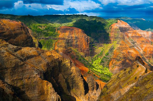 Rajskie krajobrazy - Kauai i Oahu na Hawajach