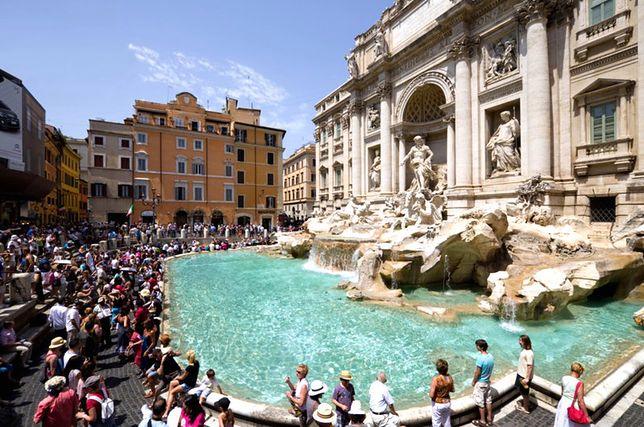 Rzym - rozpoczął się remont fontanny di Trevi