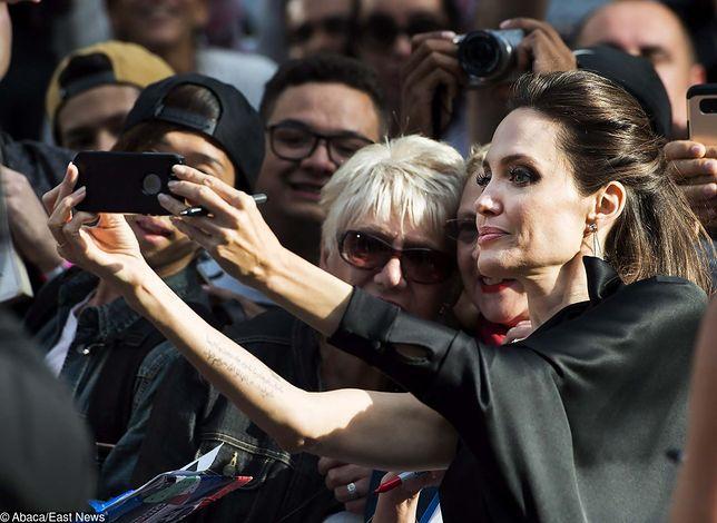 Angelina Jolie podczas odbywającego się właśnie Międzynarodowego Festiwalu Filmowego w Toronto