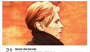 Upamiętnią wizytę Bowiego w Warszawie. Powstanie mural