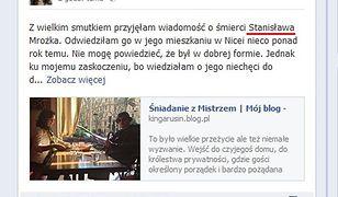 Wielka wpadka warszawskiej dziennikarki