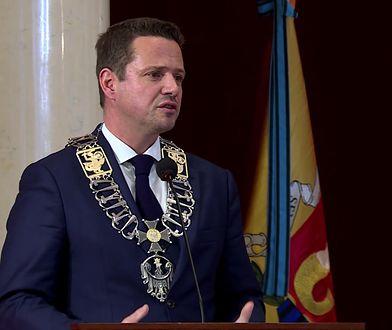 Zaprzysiężenie Rafała Trzaskowskiego na prezydenta Warszawy